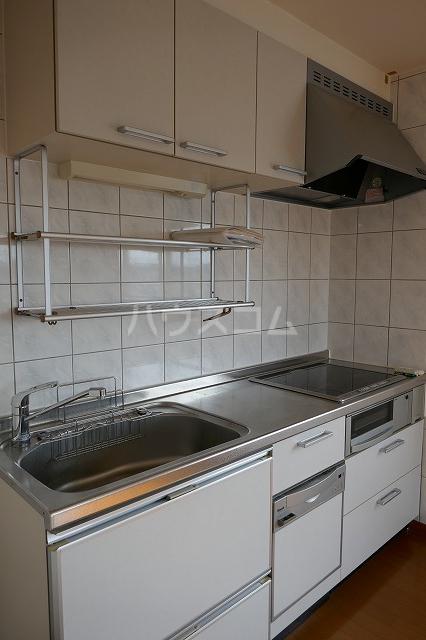 アクロス 301号室のキッチン