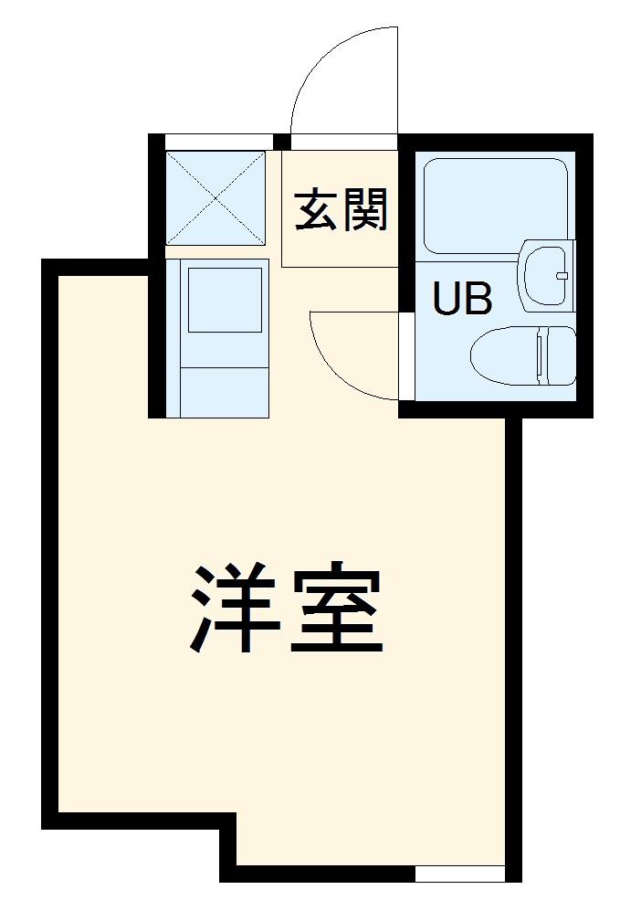 桜木ハイリビング弐番館・102号室の間取り