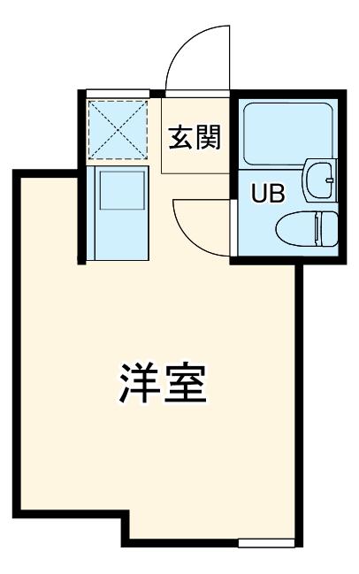 桜木ハイリビング弐番館・103号室の間取り