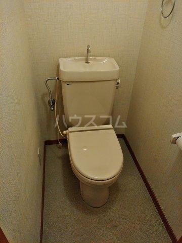 サンハイツ浦和2番館 205号室のトイレ