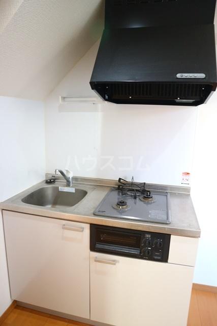 Villetta South 105号室のトイレ