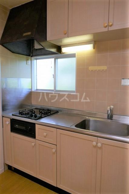 ミュゲー一番館 102号室のキッチン