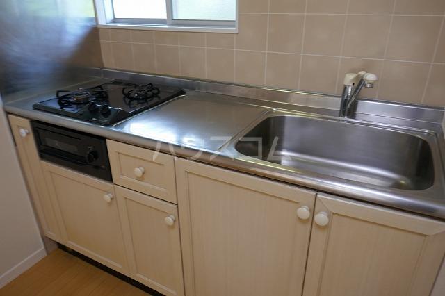 ミュゲー二番館 107号室のキッチン