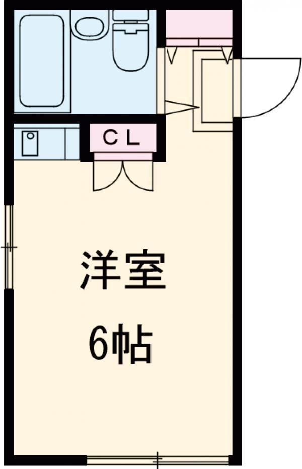 コーポFUSHIMI・101号室の間取り