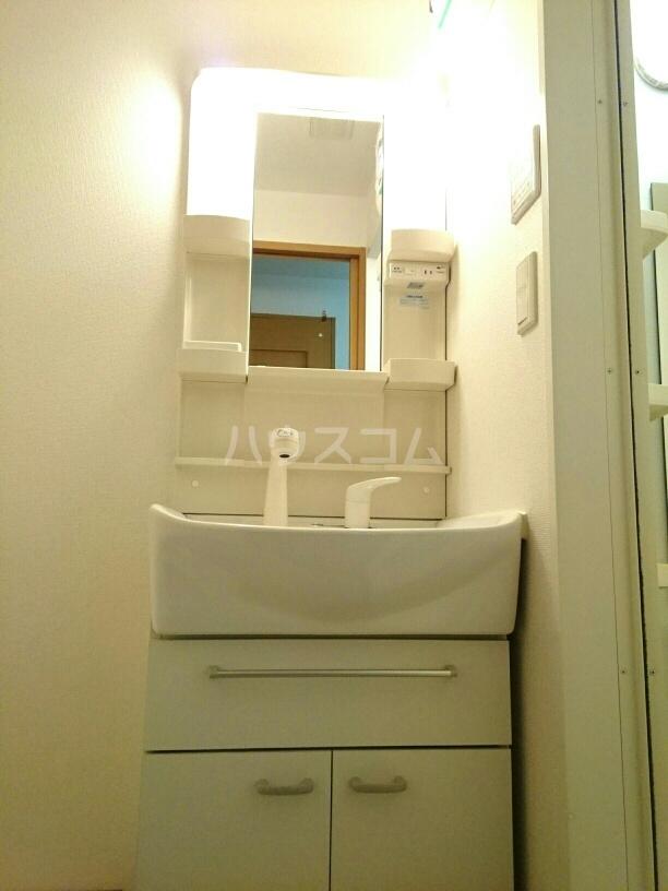 シャポー・ドゥ・パイユ 03020号室の洗面所