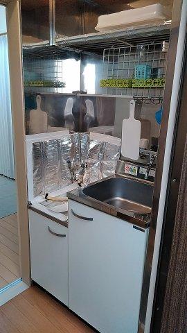 豊コーポ 1号室のキッチン