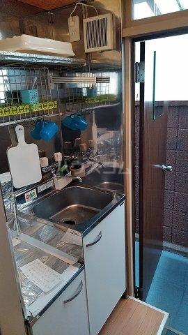 豊コーポ 1号室の洗面所