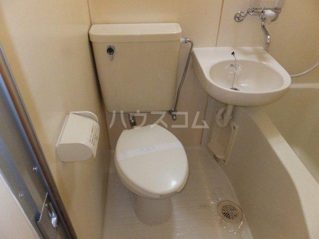エクセレント21石神井公園 202号室のトイレ
