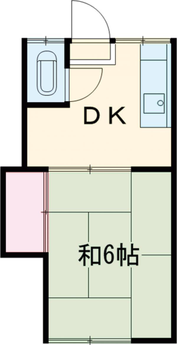 高山荘・11号室の間取り