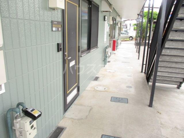 サニーコーポ・ハセベ 103号室のエントランス