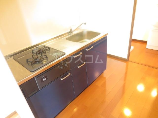 Nameki Mansion 101号室のキッチン