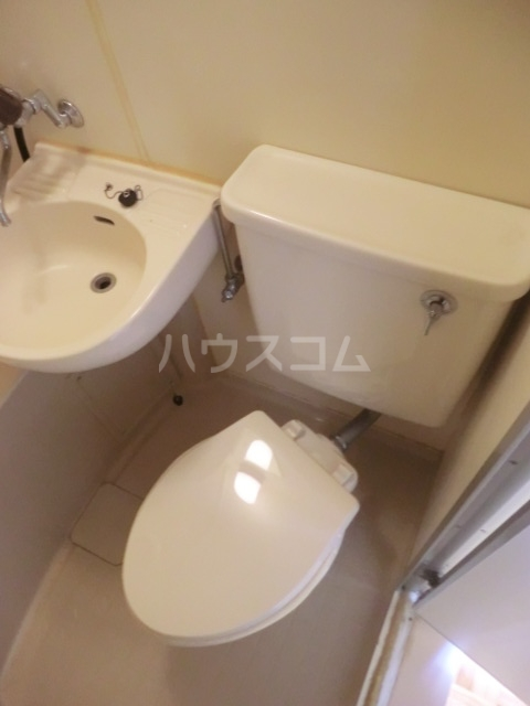 ハイツフリーダムⅠ 121号室のトイレ