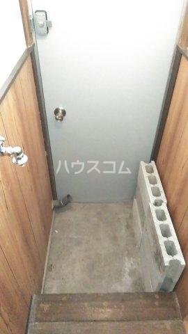 本一色一丁目戸建の玄関