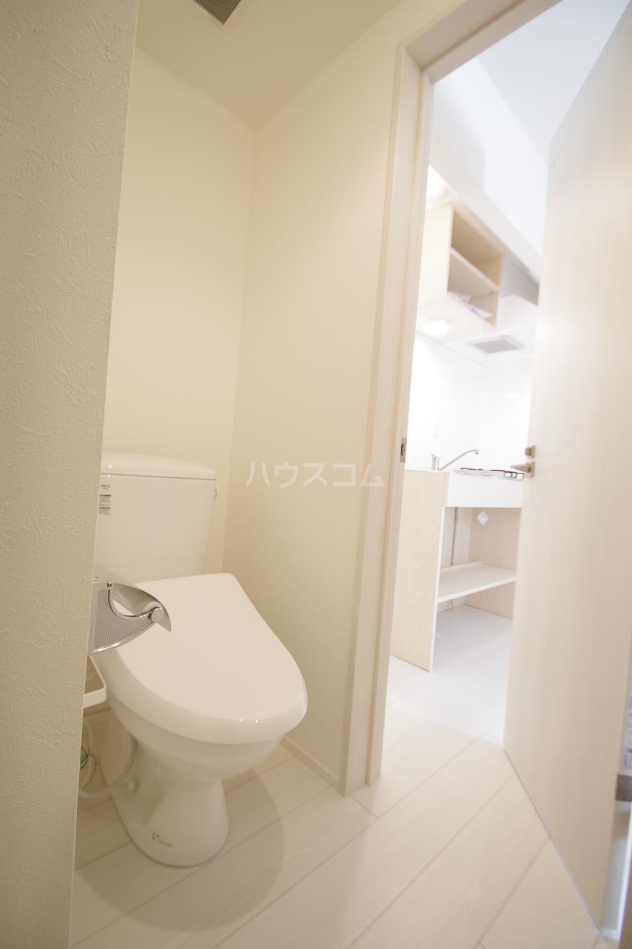 ヒルサイドレジデンス 1-A号室のトイレ