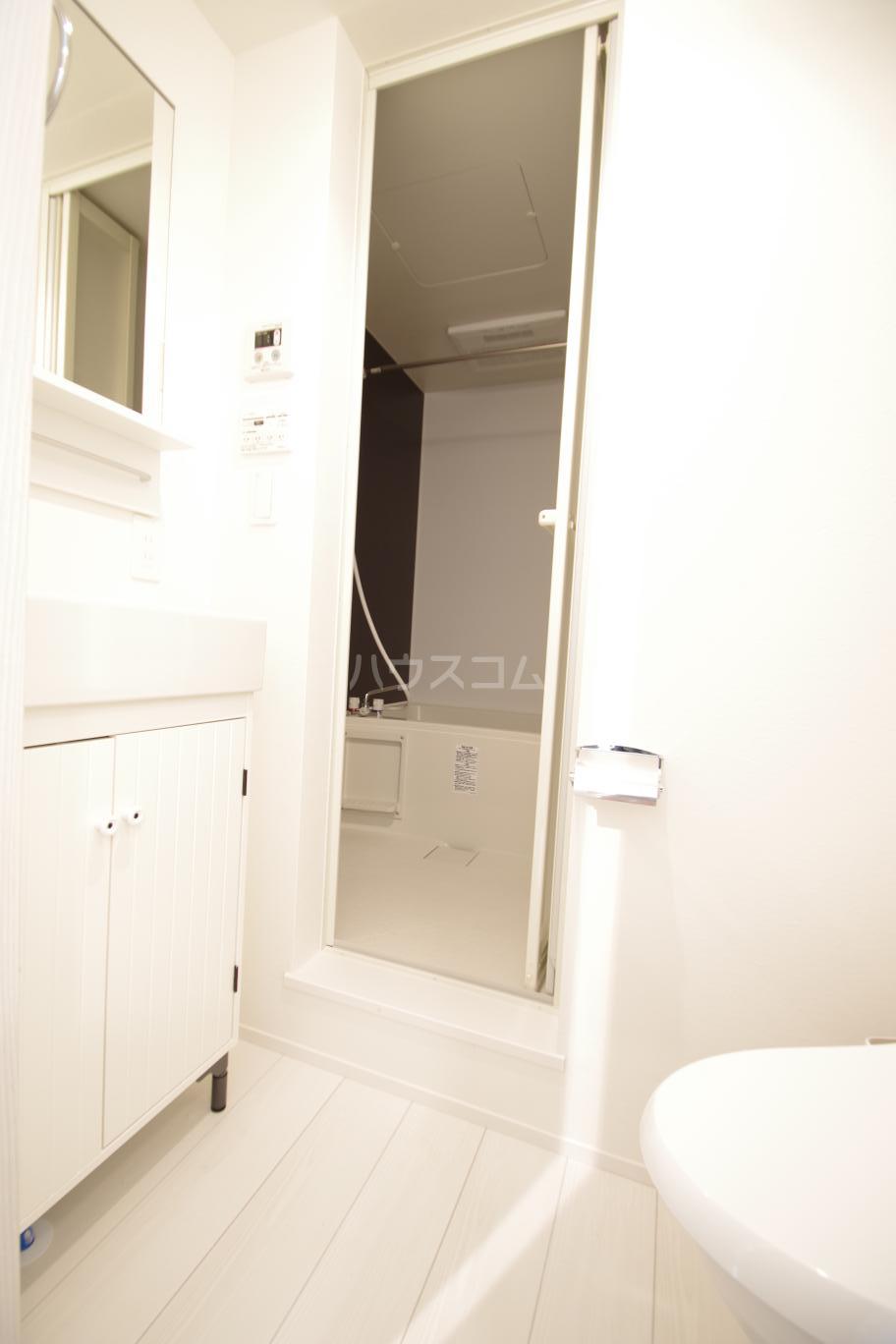 ヒルサイドレジデンス 1-A号室の洗面所