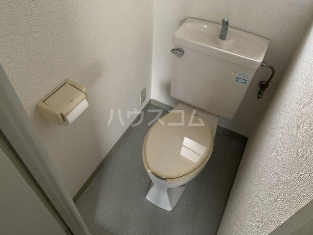 コットンハイム 202号室のトイレ