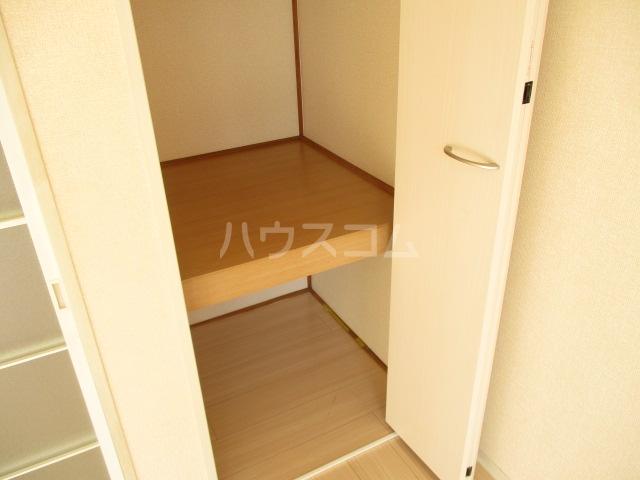 グランディール 壱番館 203号室の収納