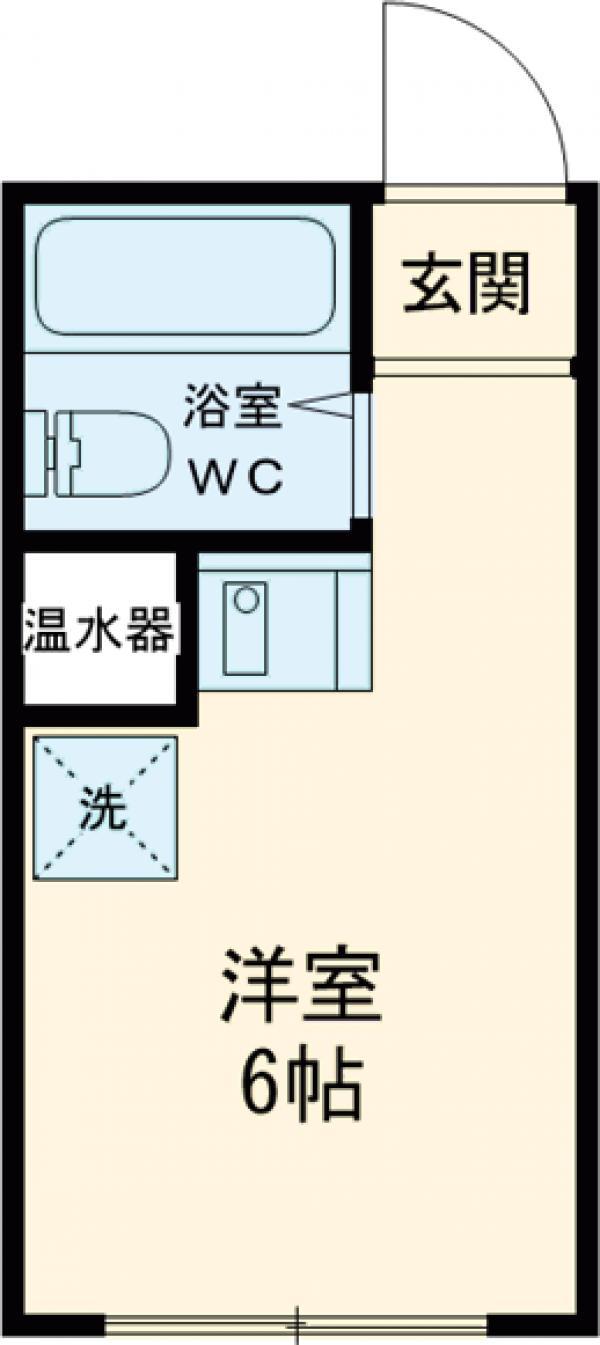 ピア江古田・103号室の間取り