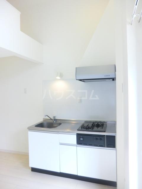 Brillia(ブリリア) 202号室のキッチン