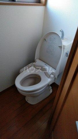 フェアリーランド 101号室のトイレ