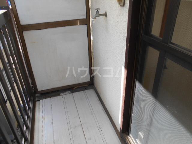コーポ高橋 201号室のバルコニー