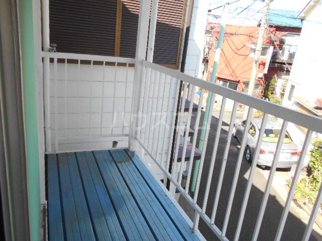 土支田4丁目貸家のバルコニー