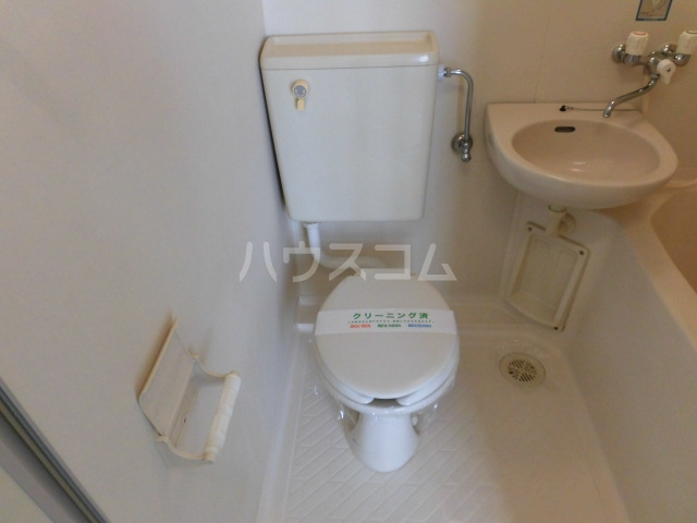 ラフィネ八王子 202号室のトイレ