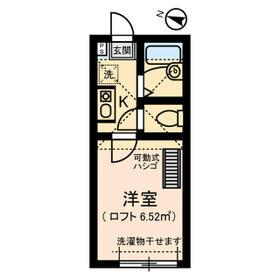 イル川崎大師 0302号室の間取り