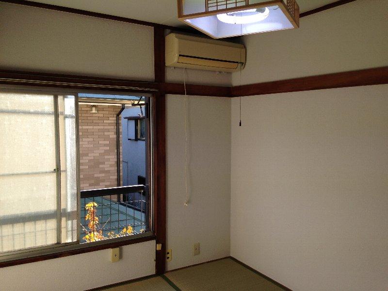 ハイム丸山 202号室のバルコニー