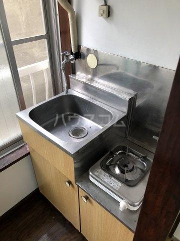 広瀬アパート 101号室のキッチン