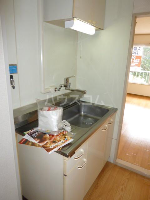 サンハイツ鶴沢 202号室のキッチン