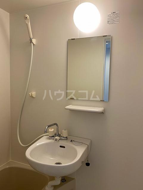 IKフラット4 207号室の洗面所
