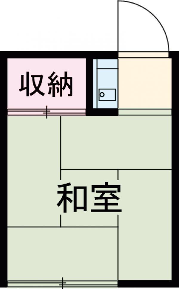 和泉荘・5号室の間取り