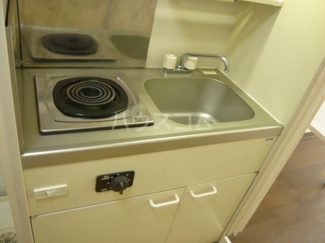 メゾンフジ 201号室のキッチン