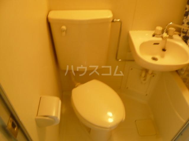 メゾンフジ 201号室のトイレ