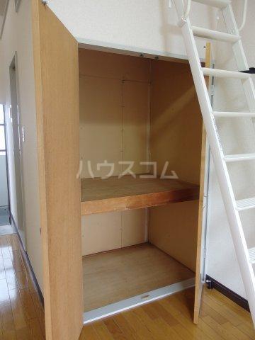 コーポイズミ 206号室の収納
