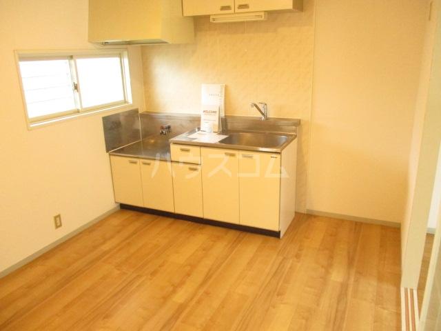 ラヴェニュ D 202号室のキッチン
