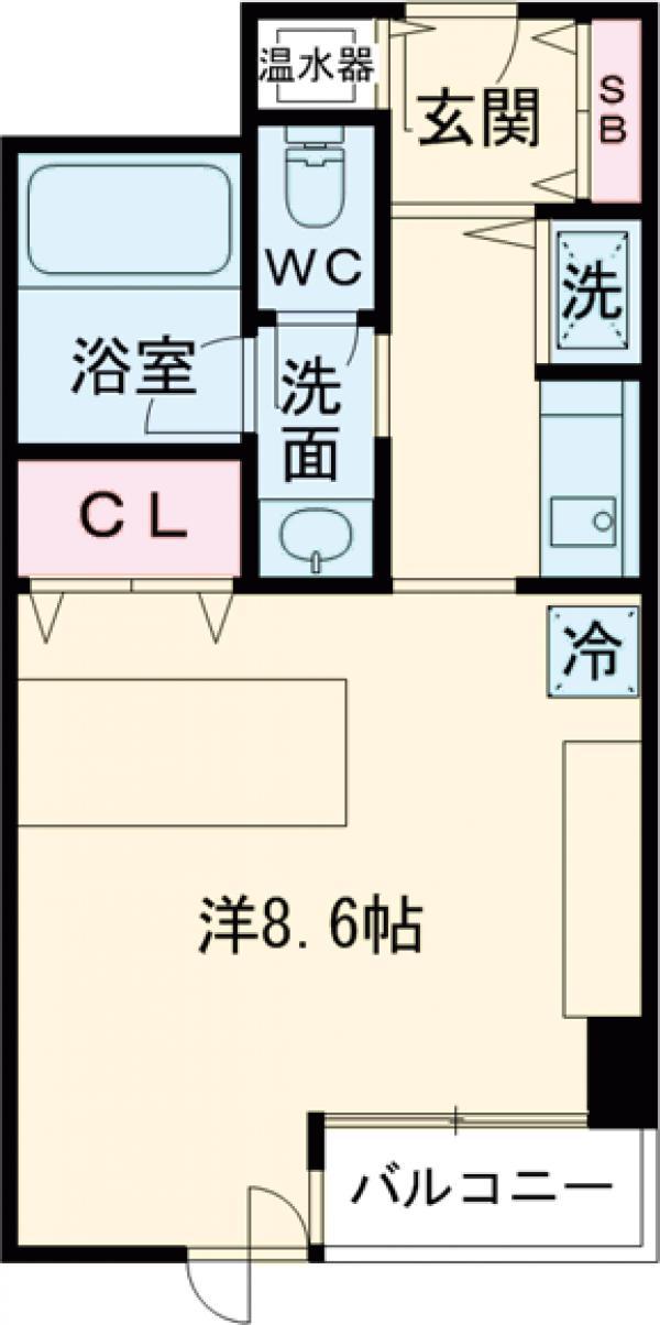 コンフォート荻窪・310号室の間取り