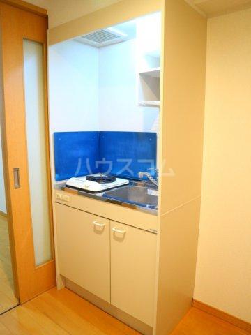 スマイルコート 202号室のキッチン
