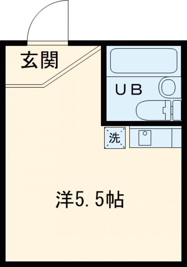 アーバンプレイス高円寺・103号室の間取り