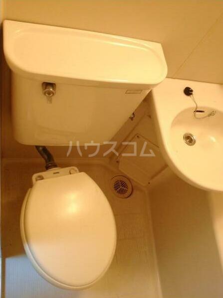 カオパレスNo.8 202号室のトイレ