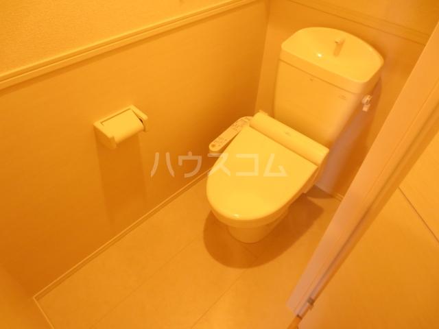 コーポスカイG 106号室のトイレ