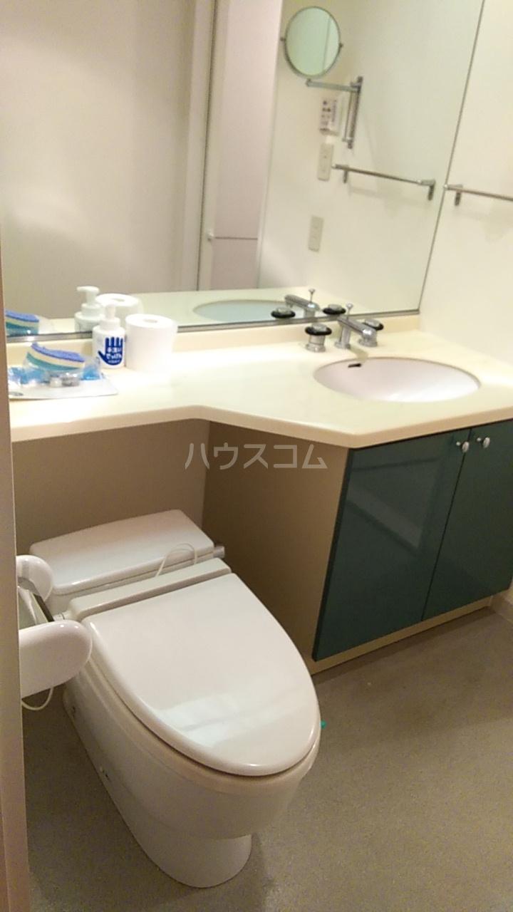 ラナイクラシコ 302号室のトイレ