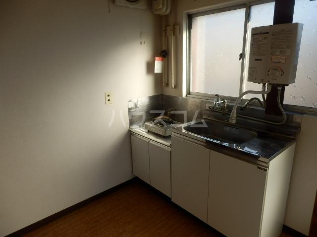 東荘 306号室のキッチン