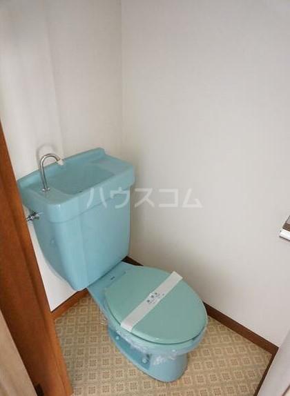 コーポオオクボ 201号室のトイレ