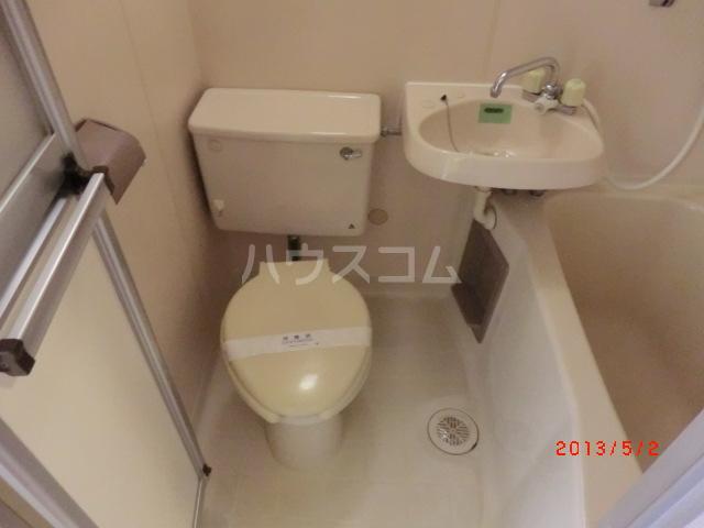 コーポリバーサイド 103号室の洗面所