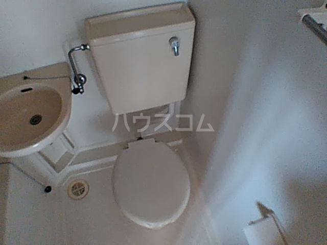 コーポ安野 203号室のトイレ