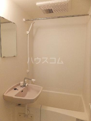レオパレスパワーハウス 202号室の洗面所