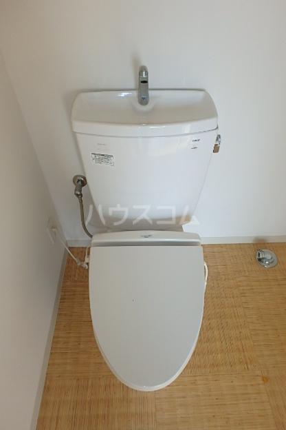 OHANA248 401号室のトイレ