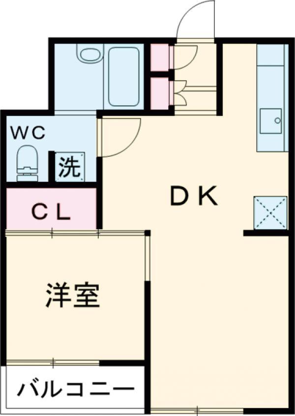 ライオンズマンション荻窪第6・102号室の間取り